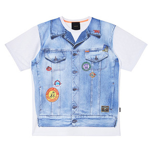 HAPPY BEACH WEAR 1/2 T(denim pt)